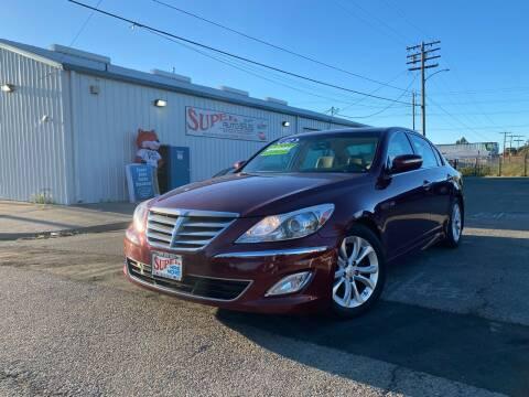 2012 Hyundai Genesis for sale at SUPER AUTO SALES STOCKTON in Stockton CA
