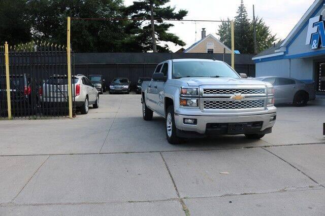 2014 Chevrolet Silverado 1500 for sale at F & M AUTO SALES in Detroit MI