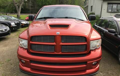 2005 Dodge Ram Pickup 1500 for sale at Richard C Peck Auto Sales in Wellsville NY