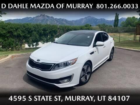 2013 Kia Optima Hybrid for sale at D DAHLE MAZDA OF MURRAY in Salt Lake City UT