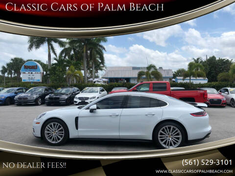 2017 Porsche Panamera for sale at Classic Cars of Palm Beach in Jupiter FL