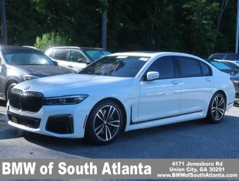 2020 BMW 7 Series for sale at Carol Benner @ BMW of South Atlanta in Union City GA