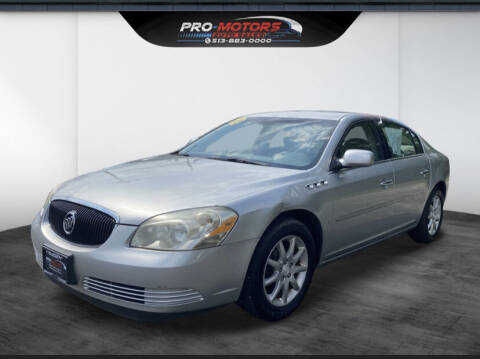 2008 Buick Lucerne for sale at Pro Motors in Fairfield OH