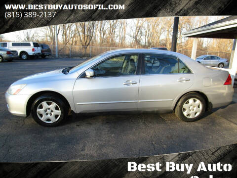 2006 Honda Accord for sale at Best Buy Auto Sales of Northern IL in South Beloit IL
