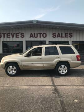 2001 Jeep Grand Cherokee for sale at STEVE'S AUTO SALES INC in Scottsbluff NE