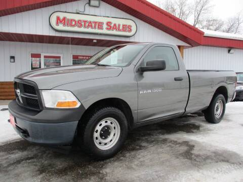 2012 RAM Ram Pickup 1500 for sale at Midstate Sales in Foley MN