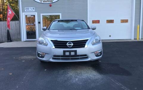 2013 Nissan Altima for sale at Leo's Auto Sales and Service in Taunton MA