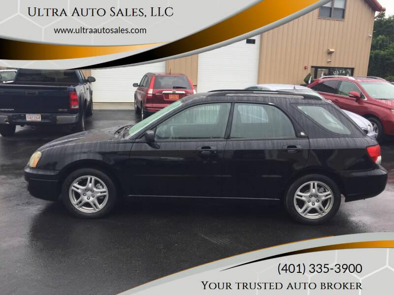 2005 Subaru Impreza for sale at Ultra Auto Sales, LLC in Cumberland RI