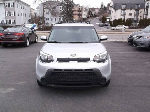 2015 Kia Soul for sale at Sharp Auto Center in Worcester MA