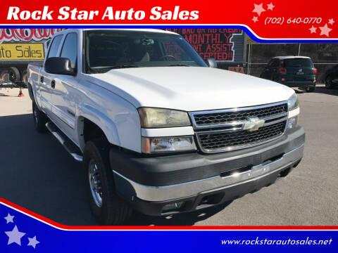 2006 Chevrolet Silverado 2500HD for sale at Rock Star Auto Sales in Las Vegas NV