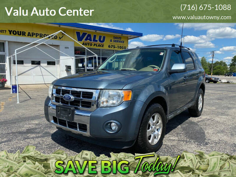 2010 Ford Escape for sale at Valu Auto Center in West Seneca NY