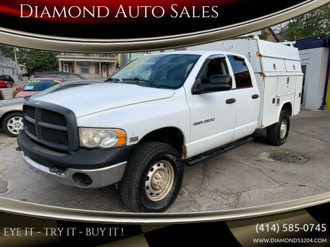 2005 Dodge Ram Pickup 2500 for sale at Diamond Auto Sales in Milwaukee WI