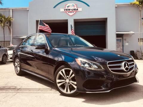 2016 Mercedes-Benz E-Class for sale at Ven-Usa Autosales Inc in Miami FL