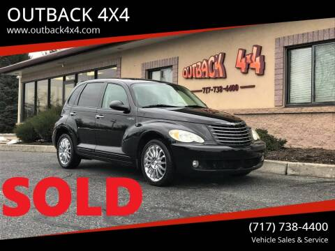 2006 Chrysler PT Cruiser for sale at OUTBACK 4X4 in Ephrata PA