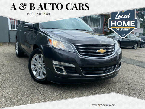 2014 Chevrolet Traverse for sale at A & B Auto Cars in Newark NJ