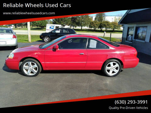 2002 Acura CL for sale at Reliable Wheels Used Cars in West Chicago IL