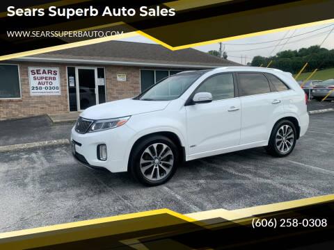 2014 Kia Sorento for sale at Sears Superb Auto Sales in Corbin KY