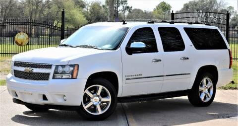 2009 Chevrolet Suburban for sale at Texas Auto Corporation in Houston TX