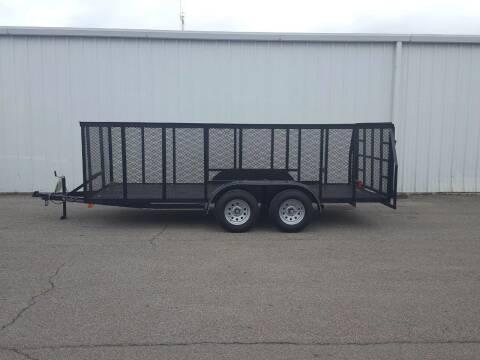 2020 Cen Tex 6 X 16 Trash Trailer for sale at Longhorn Motors in Belton TX