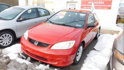 2004 Honda Civic for sale at Route 3 Motors in Broomall PA