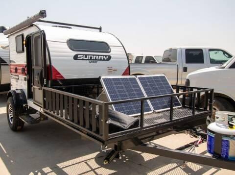 2021 Sunset Park RV Sunray Sport 109E for sale at GQC AUTO SALES in San Bernardino CA