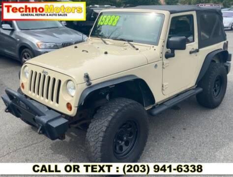 2011 Jeep Wrangler for sale at Techno Motors in Danbury CT