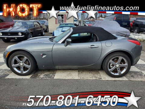 2007 Pontiac Solstice for sale at FUELIN FINE AUTO SALES INC in Saylorsburg PA