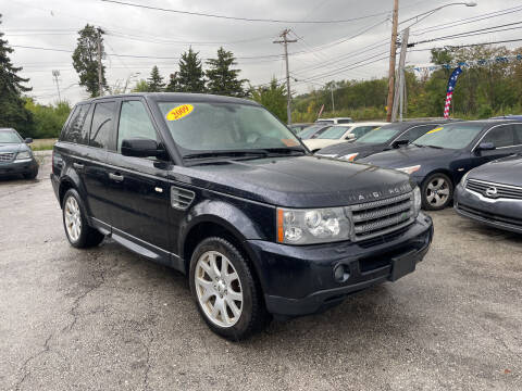 2009 Land Rover Range Rover Sport for sale at I57 Group Auto Sales in Country Club Hills IL