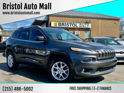 2014 Jeep Cherokee for sale at Bristol Auto Mall in Levittown PA