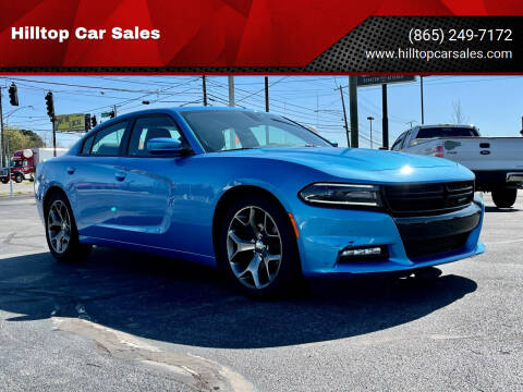 2015 Dodge Charger for sale at Hilltop Car Sales in Knox TN