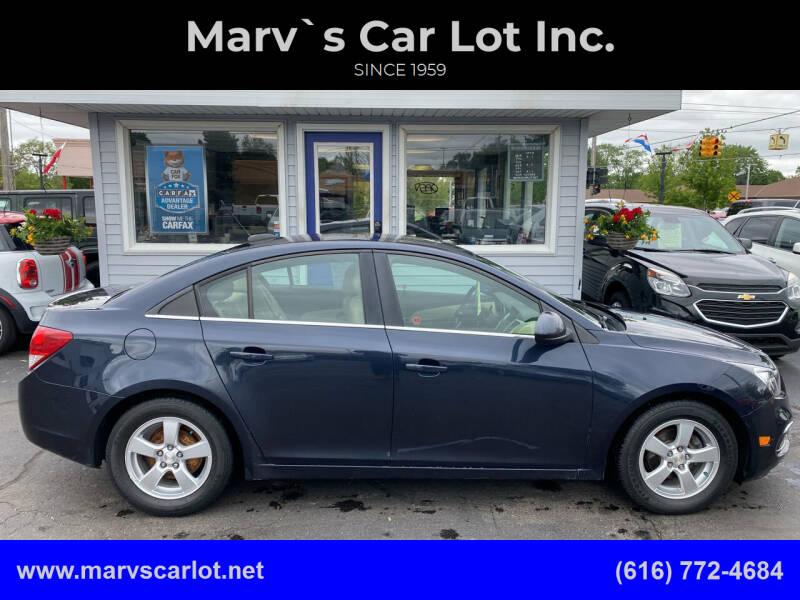 2015 Chevrolet Cruze for sale at Marv`s Car Lot Inc. in Zeeland MI