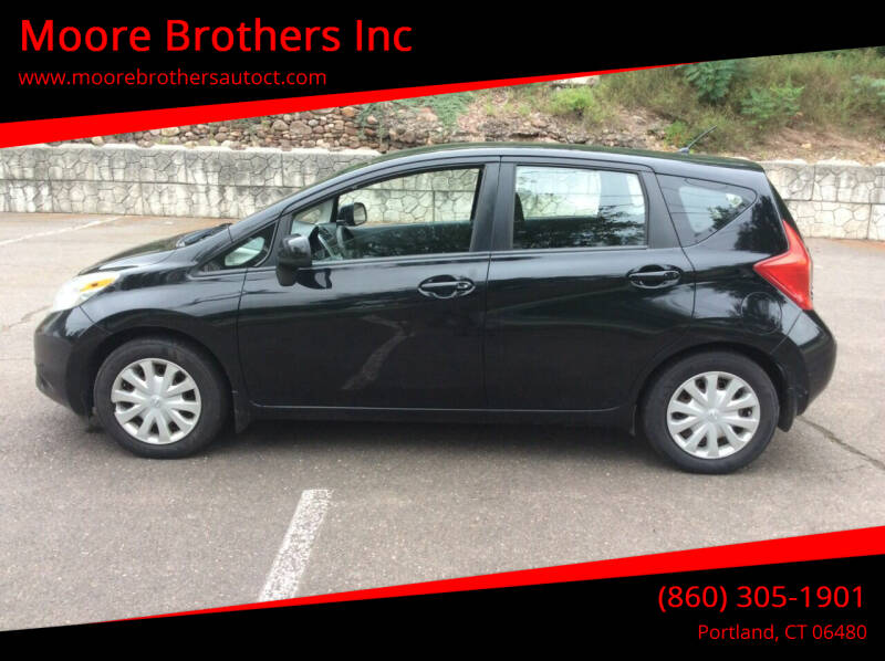 2014 Nissan Versa Note for sale at Moore Brothers Inc in Portland CT