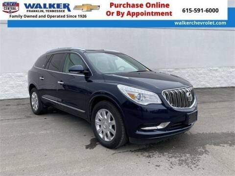 2016 Buick Enclave for sale at WALKER CHEVROLET in Franklin TN