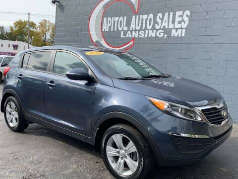 2013 Kia Sportage for sale at Capitol Auto Sales in Lansing MI