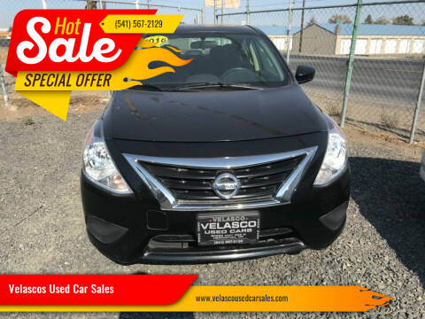 2016 Nissan Versa for sale at Velascos Used Car Sales in Hermiston OR