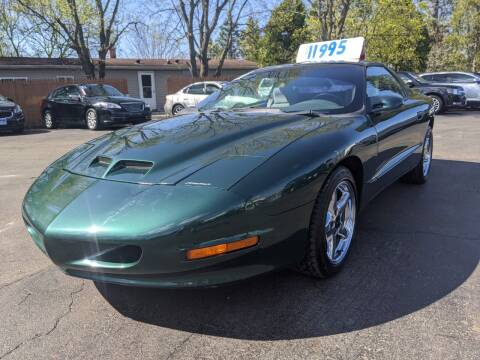 1997 Pontiac Firebird for sale at GREAT DEALS ON WHEELS in Michigan City IN