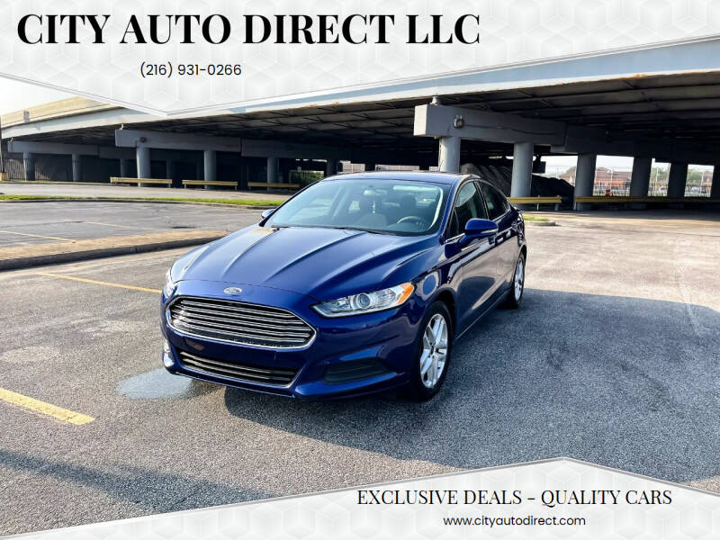 2016 Ford Fusion for sale at City Auto Direct LLC in Cleveland OH