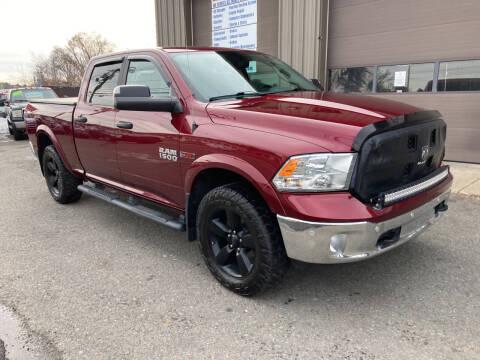 2018 RAM Ram Pickup 1500 for sale at 222 Newbury Motors in Peabody MA