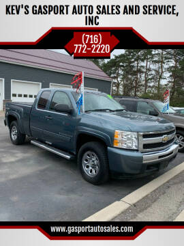 2009 Chevrolet Silverado 1500 for sale at KEV'S GASPORT AUTO SALES AND SERVICE, INC in Gasport NY