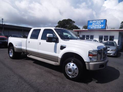 2008 Ford F-450 Super Duty for sale at Surfside Auto Company in Norfolk VA