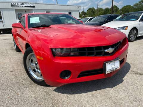 2012 Chevrolet Camaro for sale at KAYALAR MOTORS in Houston TX