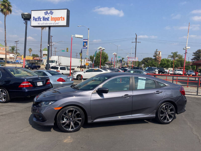 2020 Honda Civic for sale at Pacific West Imports in Los Angeles CA