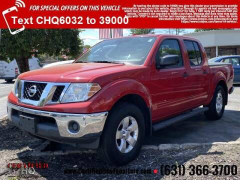 2011 Nissan Frontier for sale at CERTIFIED HEADQUARTERS in St James NY