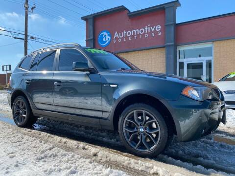 2006 BMW X3 for sale at Automotive Solutions in Louisville KY