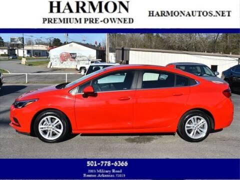 2018 Chevrolet Cruze for sale at Harmon Premium Pre-Owned in Benton AR