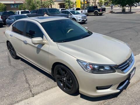 2014 Honda Accord for sale at Boulevard Motors in Saint George UT