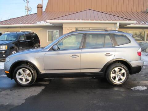 2007 BMW X3 for sale at Motors Inc in Mason MI