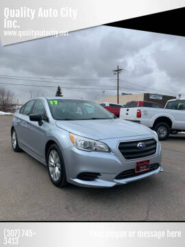 2017 Subaru Legacy for sale at Quality Auto City Inc. in Laramie WY