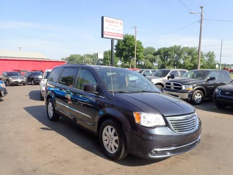 2014 Chrysler Town and Country for sale at Marty's Auto Sales in Savage MN