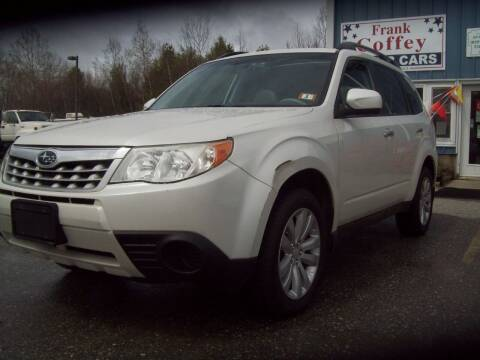 2011 Subaru Forester for sale at Frank Coffey in Milford NH